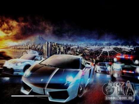 Loading Screens NFS para GTA San Andreas quinto tela