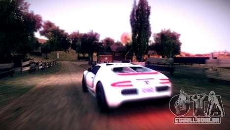 Somador de GTA V para GTA San Andreas vista direita