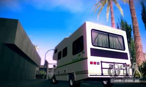 GTA V Camper para GTA San Andreas esquerda vista