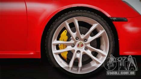Porsche 911 Carrera para GTA San Andreas vista direita