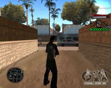 C-HUD by Santoro para GTA San Andreas segunda tela