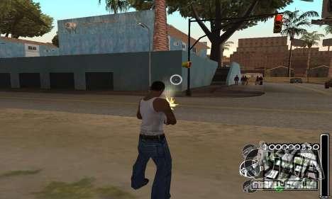 C-HuD Black White para GTA San Andreas terceira tela