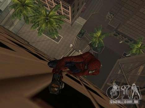 Homem-aranha para GTA San Andreas segunda tela