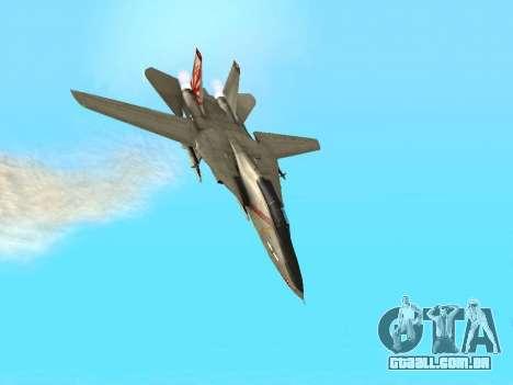 F-14 Tomcat HQ para GTA San Andreas vista superior