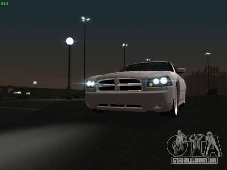 Dodge Charger RT 2008 para GTA San Andreas