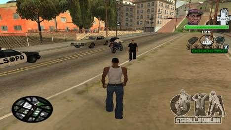 C-HUD by Tyler para GTA San Andreas segunda tela