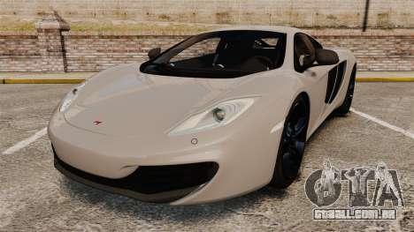 McLaren MP4-12C 2012 [EPM] para GTA 4