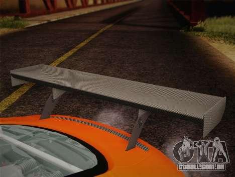 Audi R8 LMS v2.0.4 DR para GTA San Andreas vista superior