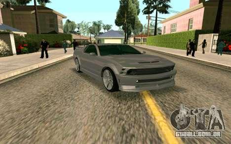 GTA V Vapid Dominator para GTA San Andreas esquerda vista