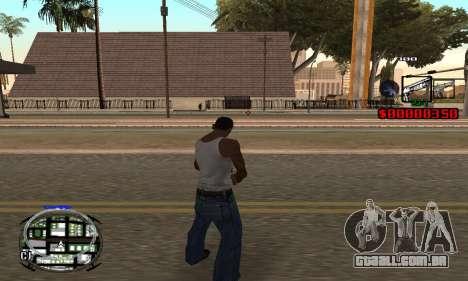 C-HUD (LSPD) para GTA San Andreas terceira tela