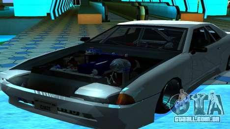 Elegy 280sx v2.0 para GTA San Andreas traseira esquerda vista