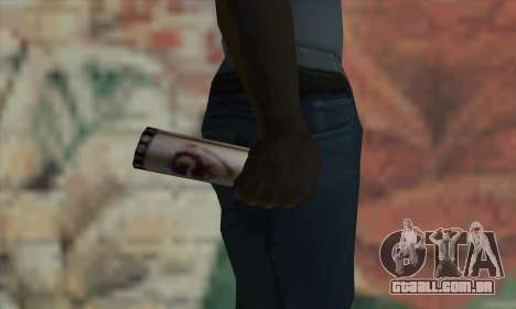 Montana Gold Spray para GTA San Andreas terceira tela