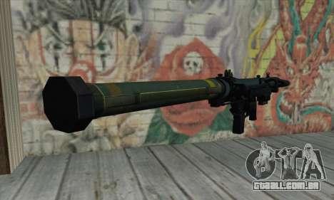 SMAW de BF3 para GTA San Andreas segunda tela