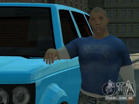 Vin Diesel Wheelman para GTA 4 terceira tela