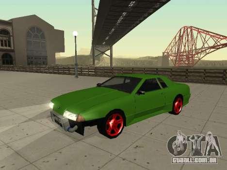 Elegy by X3noNon para GTA San Andreas esquerda vista