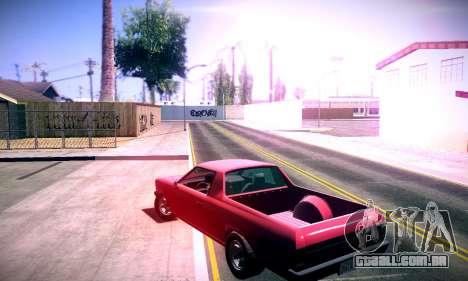 GTA V Picador para GTA San Andreas esquerda vista