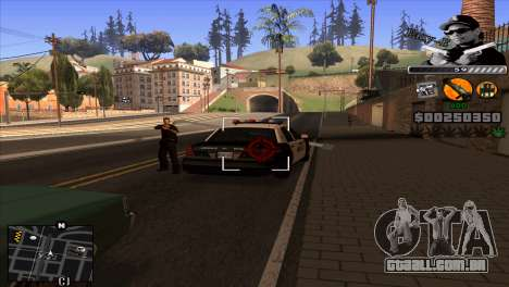 C-Hud Eazy-E para GTA San Andreas terceira tela