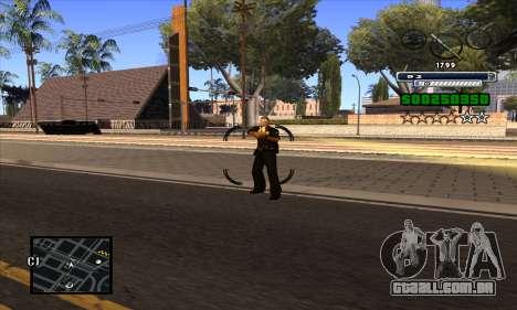 C-HUD para GTA San Andreas quinto tela