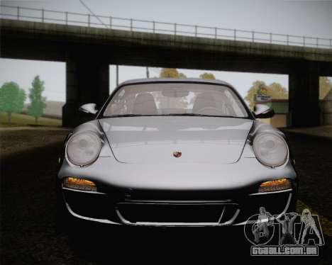 Porsche 911 Carrera para GTA San Andreas vista inferior