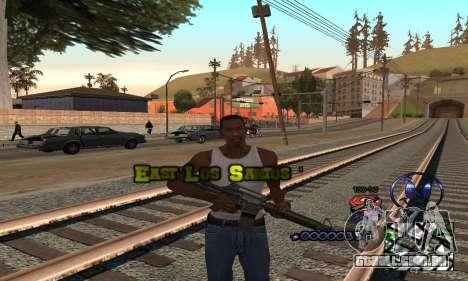 HUD by Anatole para GTA San Andreas