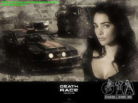 Arranque telas de Corrida da Morte para GTA San Andreas terceira tela