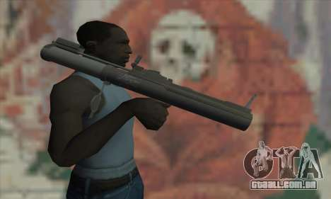 M72 LAW para GTA San Andreas terceira tela