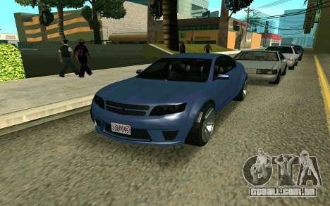 GTA V Fugitive para GTA San Andreas
