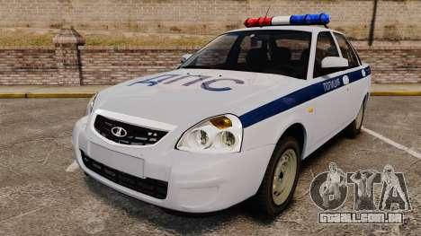 VAZ-2170 Polícia para GTA 4