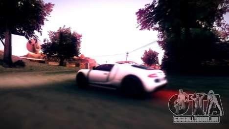 Somador de GTA V para GTA San Andreas vista traseira