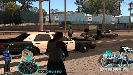 C-HUD Aztecaz by HARDy para GTA San Andreas segunda tela