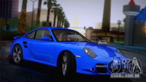 Porsche 911 Turbo Bi-Color para GTA San Andreas esquerda vista