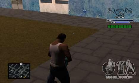 C-HUD para GTA San Andreas segunda tela