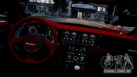 Spyker C8 Aileron Spyder v2.0 para GTA 4 vista lateral