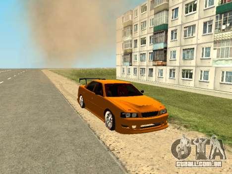 Toyota Сhaser para GTA San Andreas esquerda vista