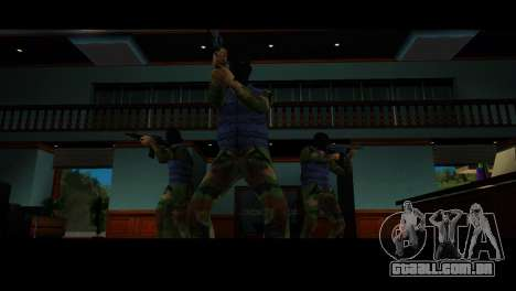 Reskin ladrões para GTA Vice City por diante tela
