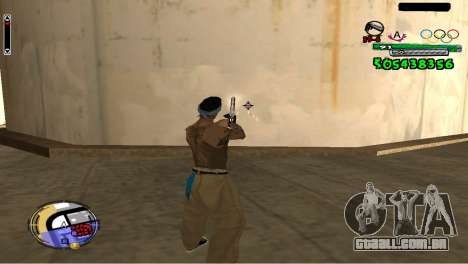 C-HUD By Fedya para GTA San Andreas terceira tela