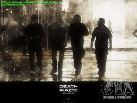 Arranque telas de Corrida da Morte para GTA San Andreas segunda tela