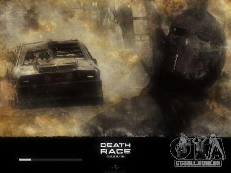 Arranque telas de Corrida da Morte para GTA San Andreas sexta tela