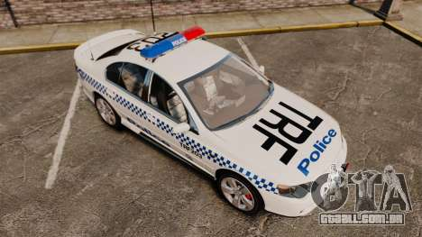Ford BF Falcon XR6 Turbo Police [ELS] para GTA 4 vista lateral