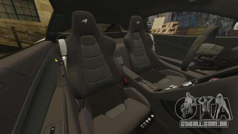 McLaren MP4-12C 2012 [EPM] para GTA 4 vista superior