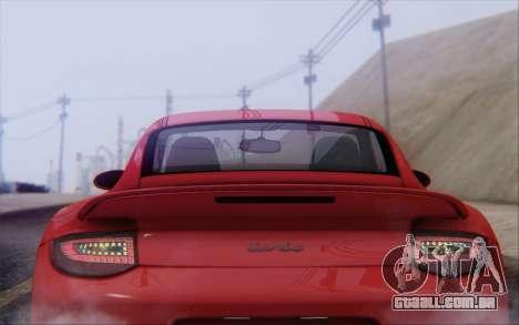 Porsche 911 Turbo para o motor de GTA San Andreas