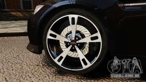 BMW M3 E92 AC Schnitzer ACS3-Sport para GTA 4 vista de volta