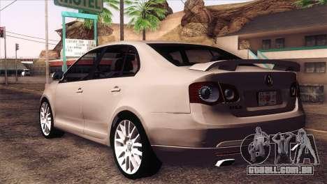 Volkswagen Bora GLI para GTA San Andreas esquerda vista