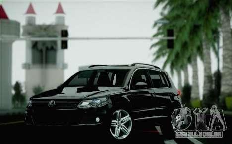 Volkswagen Tiguan 2012 para GTA San Andreas vista superior