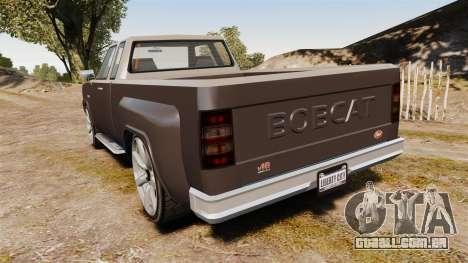 Bobcat XL v2.0 para GTA 4 traseira esquerda vista
