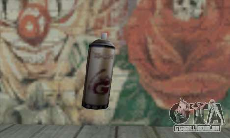 Montana Gold Spray para GTA San Andreas