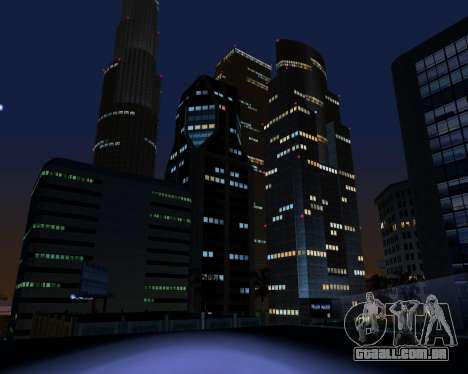 ENB para PC fraco para GTA San Andreas quinto tela