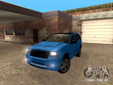 Jeep Grand Cherokee SRT8 Restyling M para GTA San Andreas