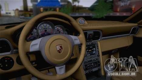 Porsche 911 Turbo Bi-Color para GTA San Andreas vista traseira
