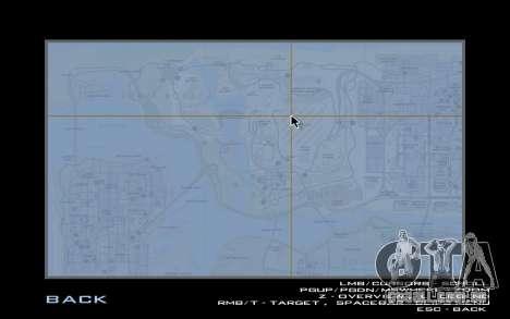 HQ Radar by Rockstar para GTA San Andreas terceira tela